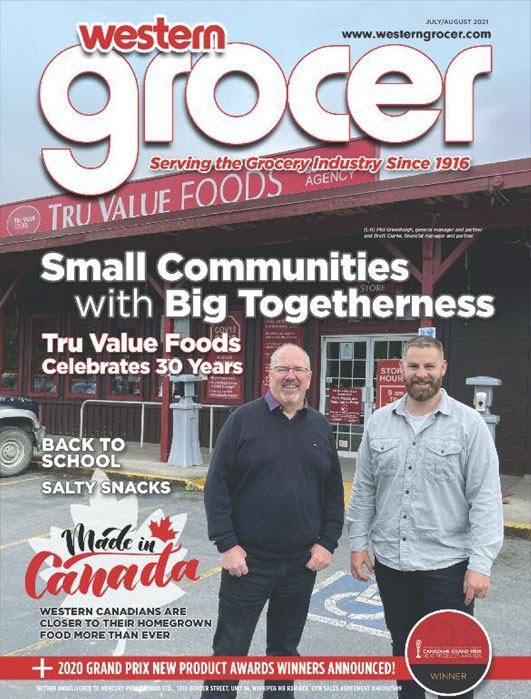 western grocer magazine cover prairie melt editorial feature